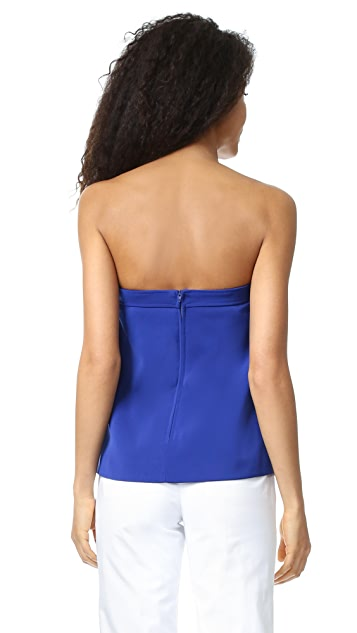 C/Meo Collective Distant Land Strapless Top