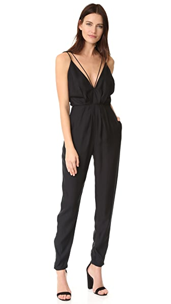 C/Meo Collective Set in Stone Jumpsuit - Black