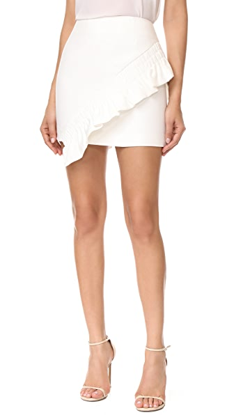 C/Meo Collective Double Take Skirt - Ivory