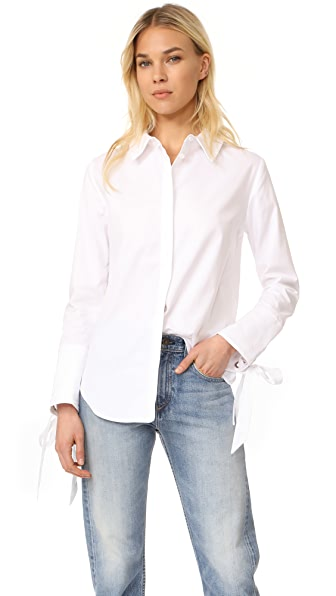 C/Meo Collective Objection Long Sleeve Shirt - White
