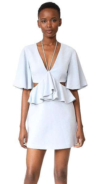 C/Meo Collective Lose Control Mini Dress - Glacier