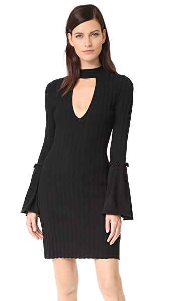 C/Meo Collective Mind Reader Knit Dress - Black