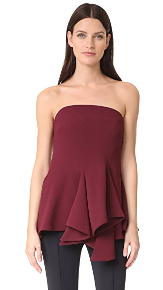 C/Meo Collective Autonomy Bustier Top - Mahogany