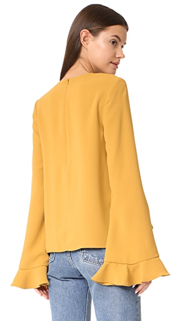 C/Meo Collective Gossamer Top