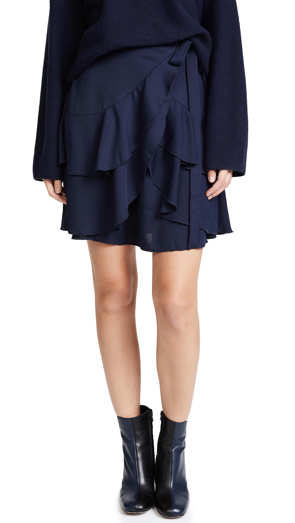 C/Meo Collective Gossamer Miniskirt - Navy