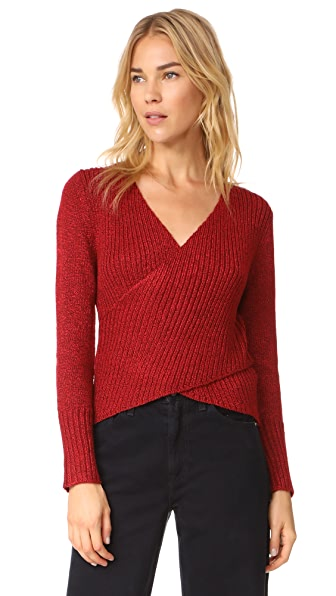 C/Meo Collective Feature Knit Pullover