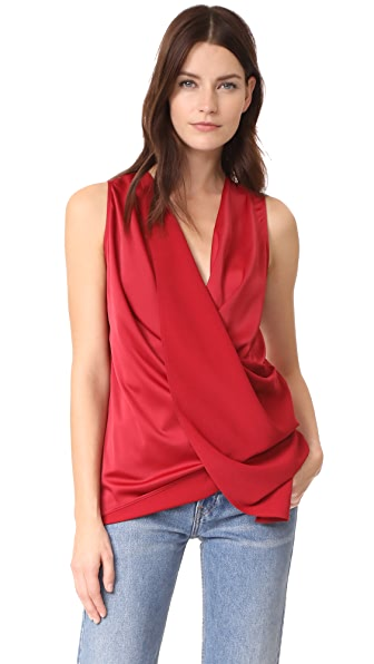 C/Meo Collective Influential Top In Crimson