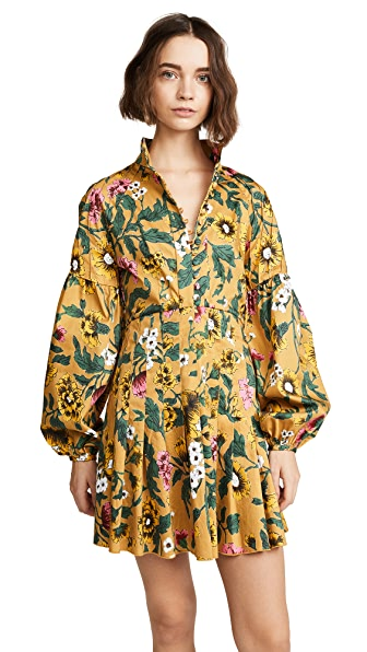 C/Meo Collective Another Lover Dress In Marigold Floral