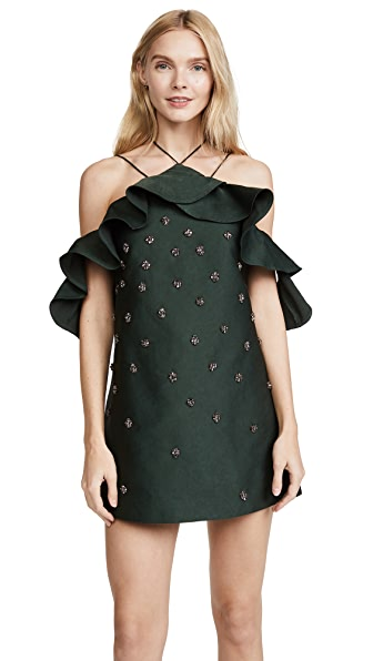 C/Meo Collective Assemble Dress In Forest