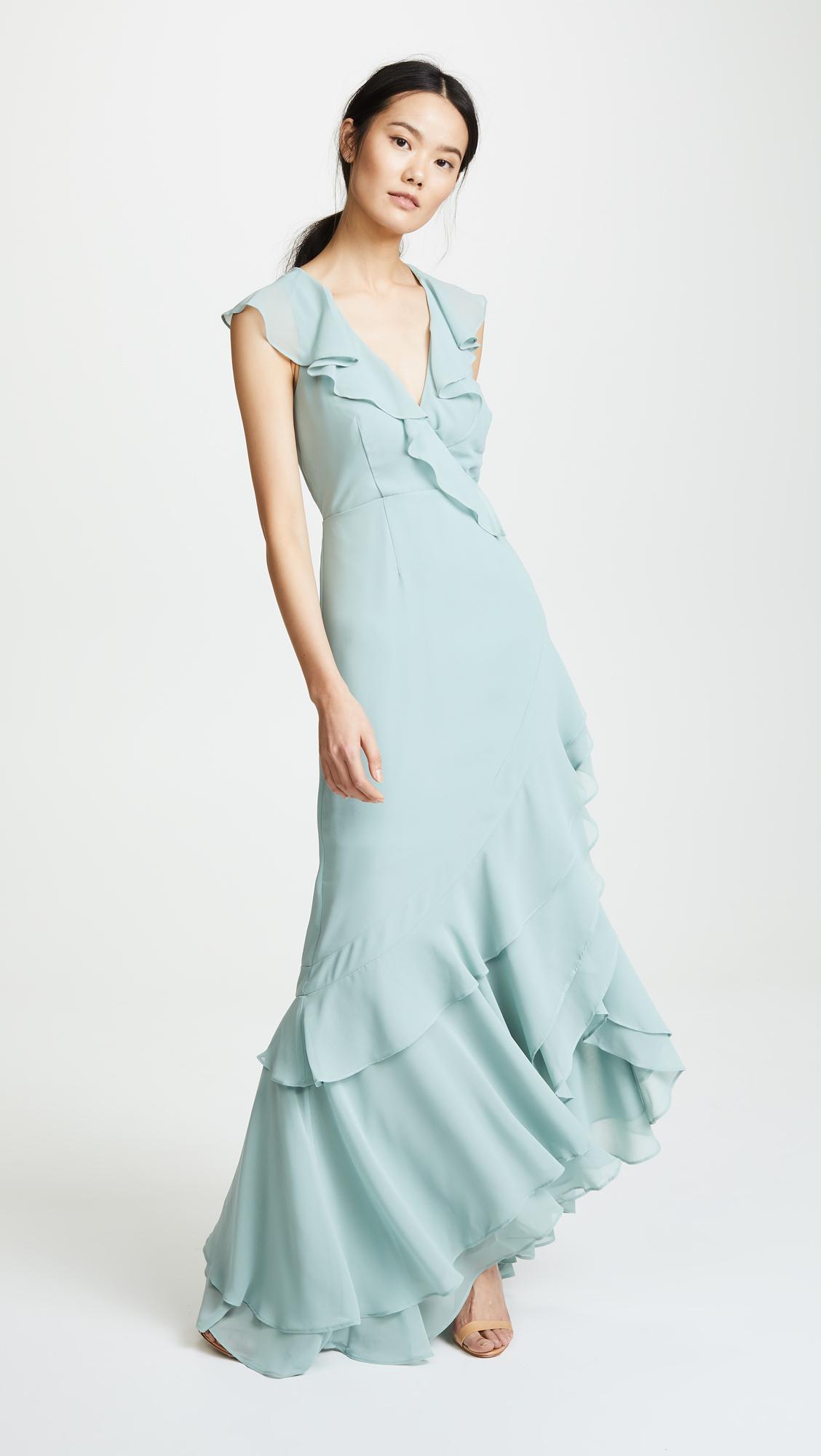 Colorful Genelia D Souza Wedding Gown Sketch - All Wedding Dresses ...