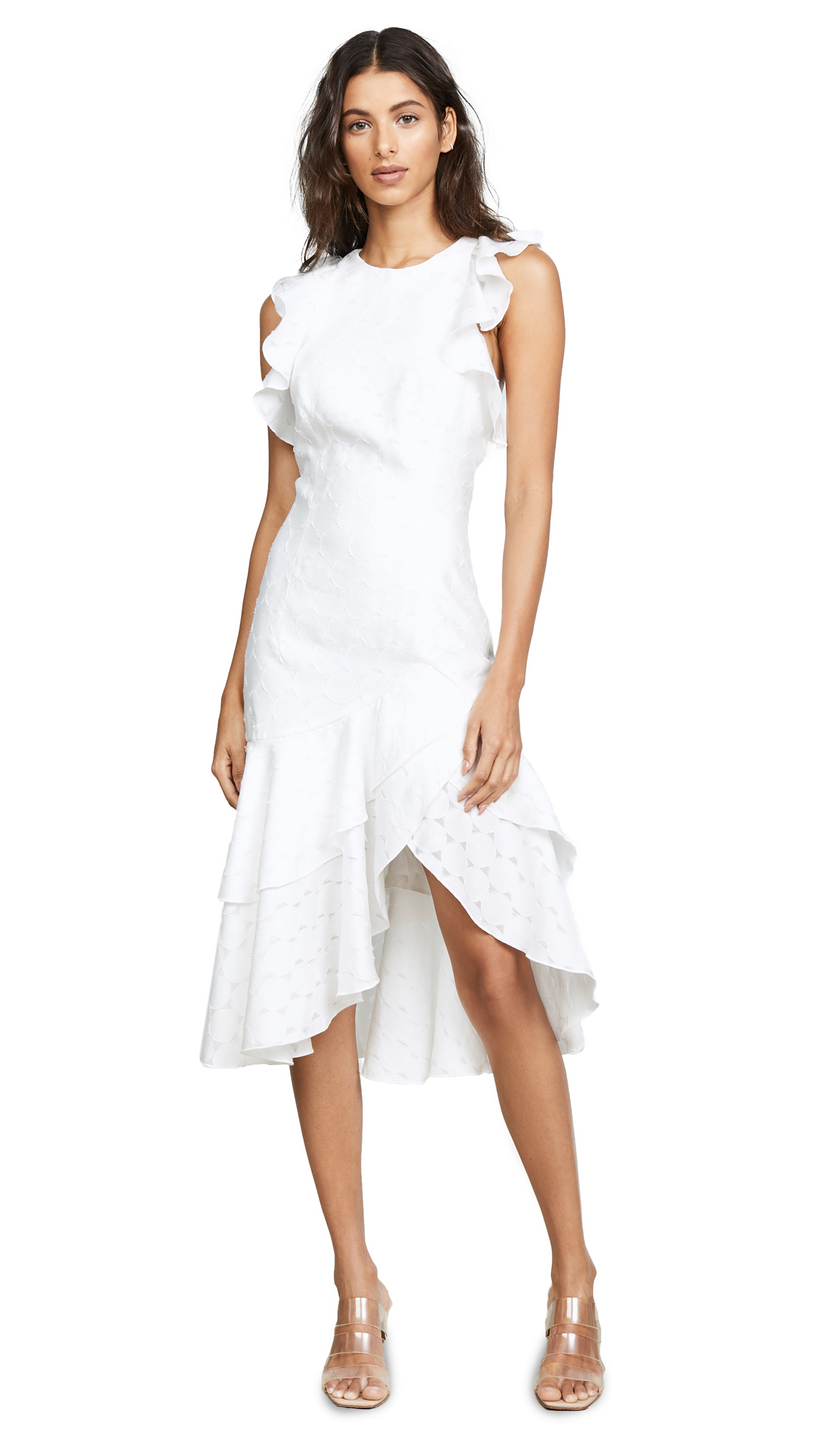 C/Meo Collective Magnetise Dress - Ivory