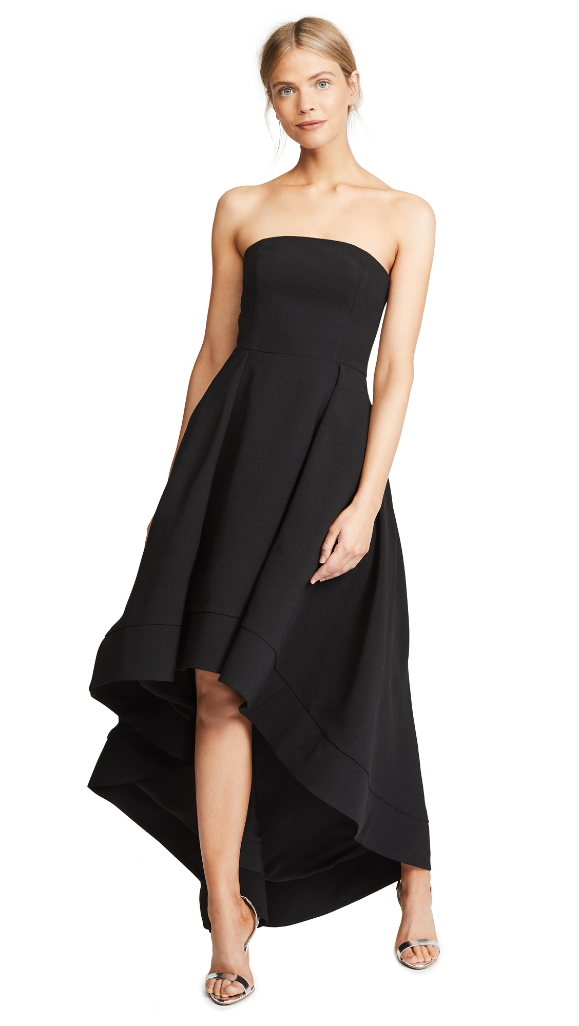 C/MEO COLLECTIVE Entice Gown in Black