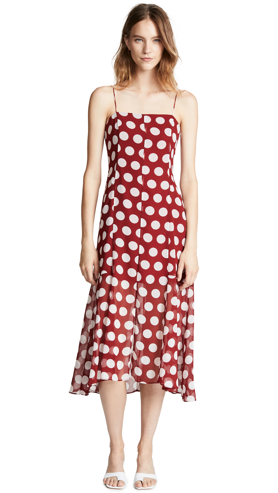 C/Meo Collective Unending Dress In Ruby Spot