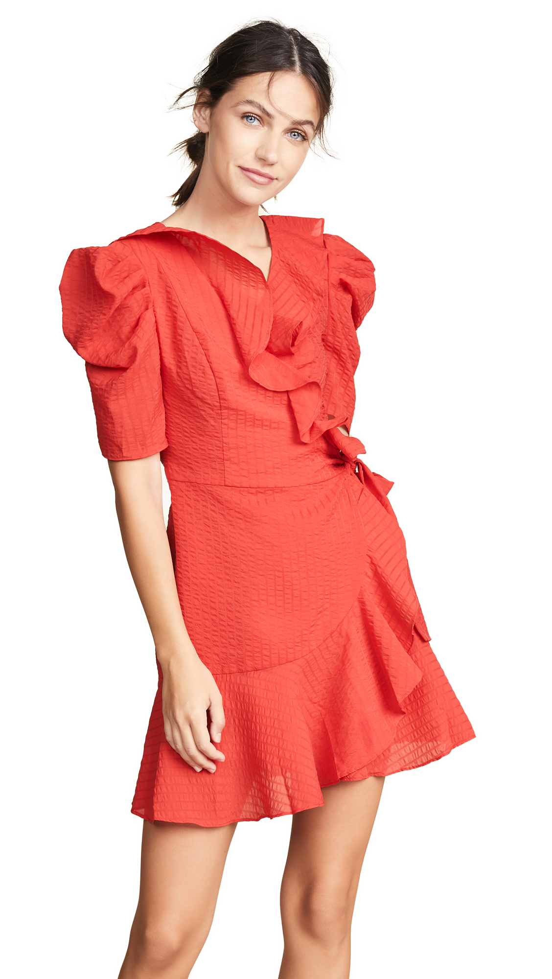 C/Meo Collective Advance Dress In Cherry