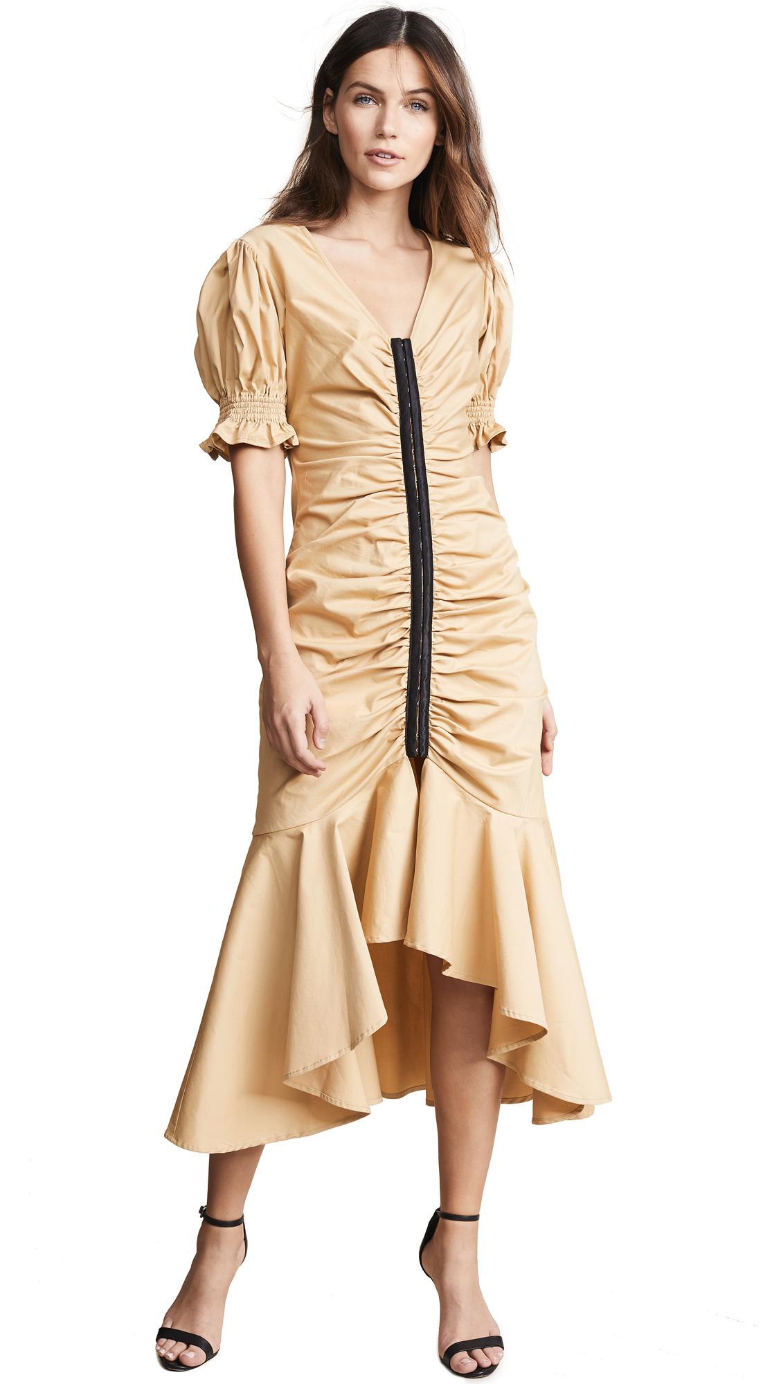 Imbue Midi Dress in Bone