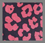 Hot Pink Abstract Floral
