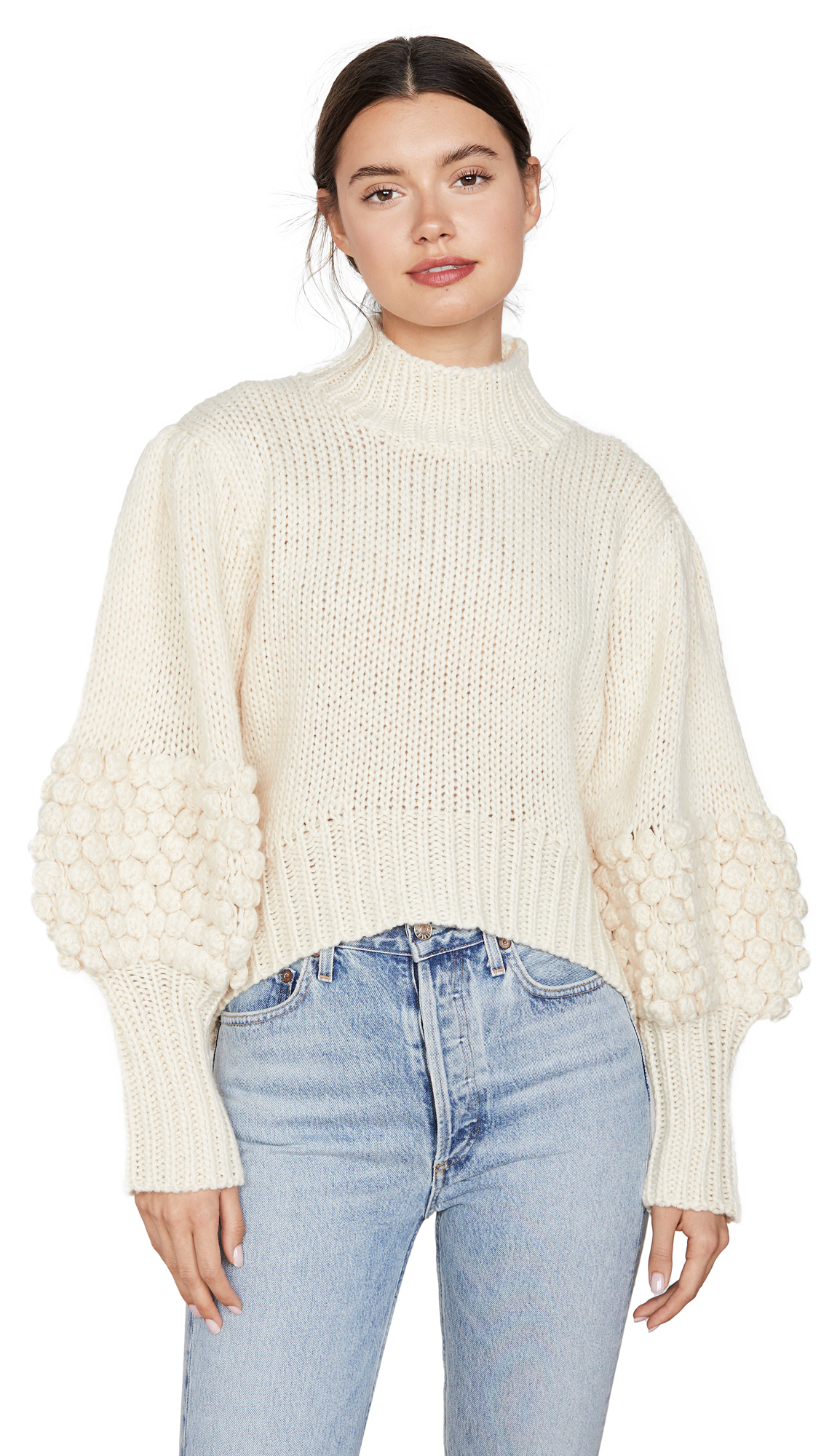 Buy C/Meo Collective online - photo of C/Meo Collective Hold Tight Knit Sweater