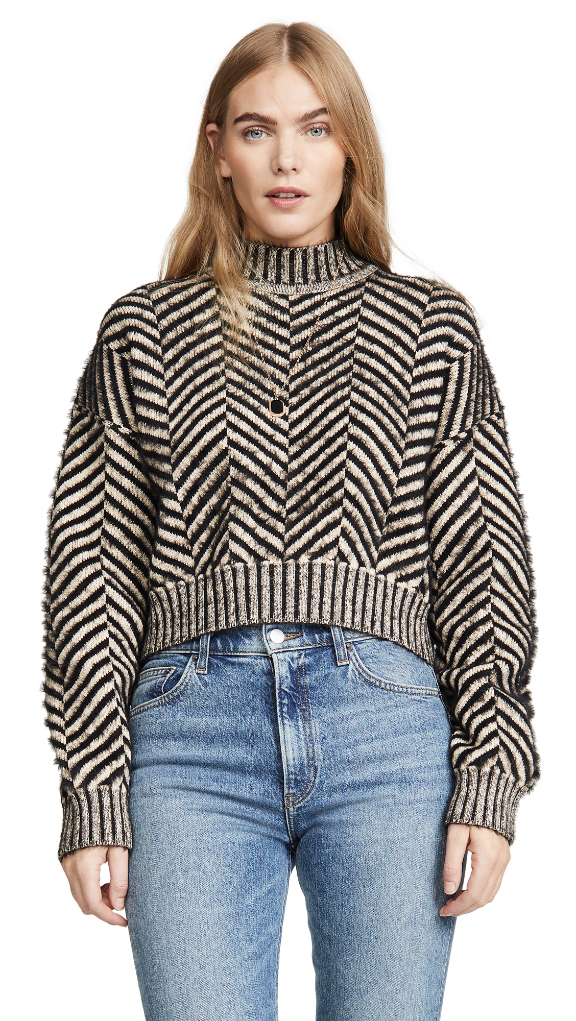 Buy C/Meo Collective online - photo of C/Meo Collective Stuck On You Sweater