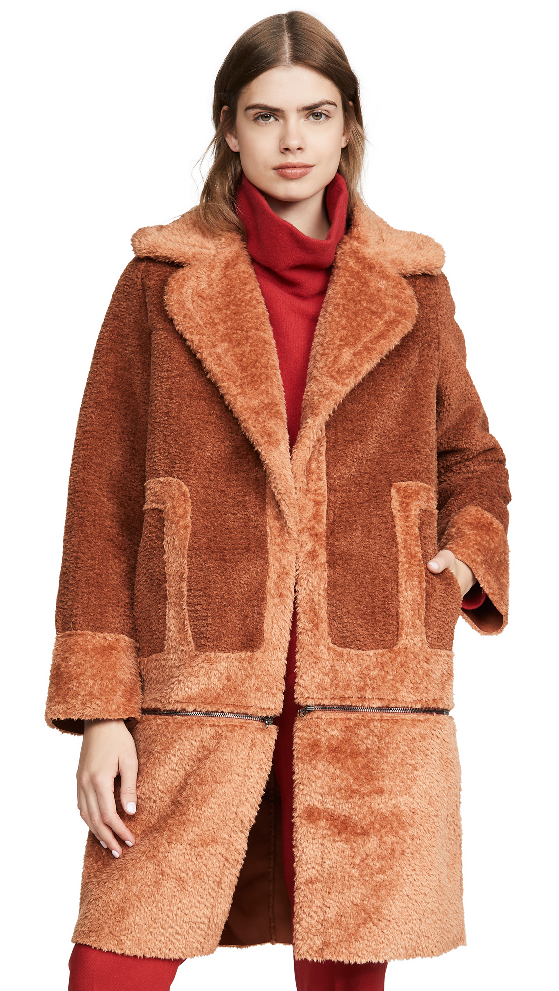 Buy C/Meo Collective online - photo of C/Meo Collective Love For Me Coat