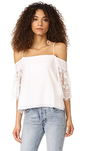 CAMI NYC The Sophie Top - White