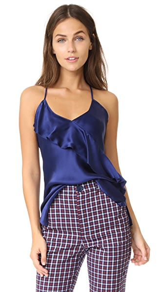 CAMI NYC The Roxy Cami In Sapphire
