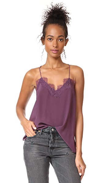 CAMI NYC The Racer Cami In Amethyst