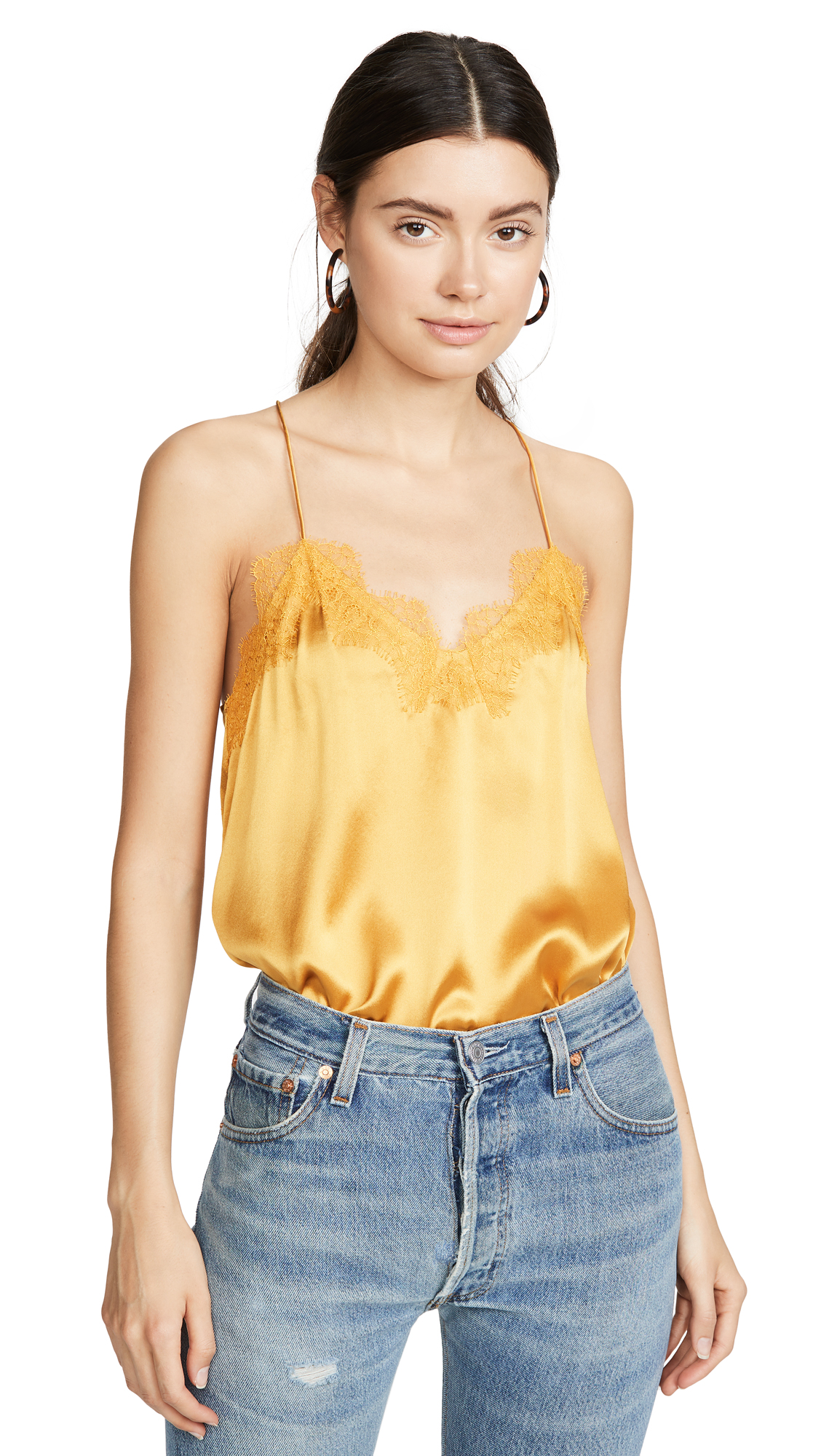 Buy CAMI NYC online - photo of CAMI NYC Racer Charmeuse Top
