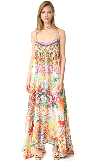 Camilla Flower Hour Long Dress