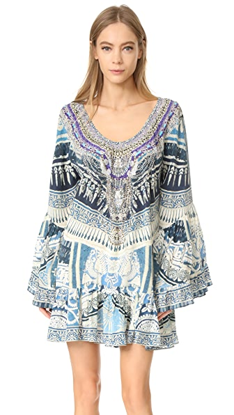 Camilla Tales of Batik A-Line Frill Dress