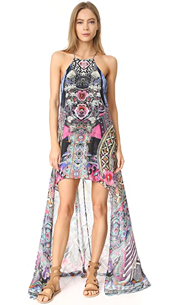Camilla Bells at Dusk Sheer Overlay Dress