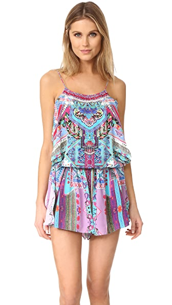 Camilla Festival Friends Shoestring Romper - Festival Friends