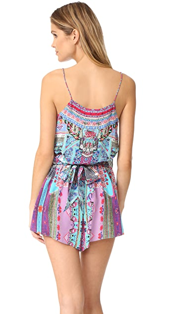 Camilla Festival Friends Shoestring Romper