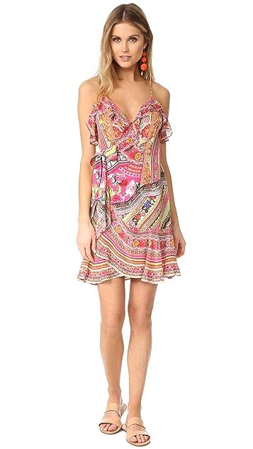 Camilla Hani Honey Wrap Frill Dress