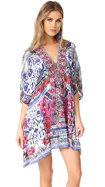 Camilla From Kaili With Love Short Lace Up Caftan