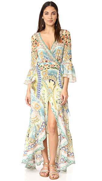 Camilla Sign of Peace Wrap Dress - Sign of Peace