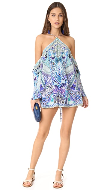 Camilla The Blue Market Romper