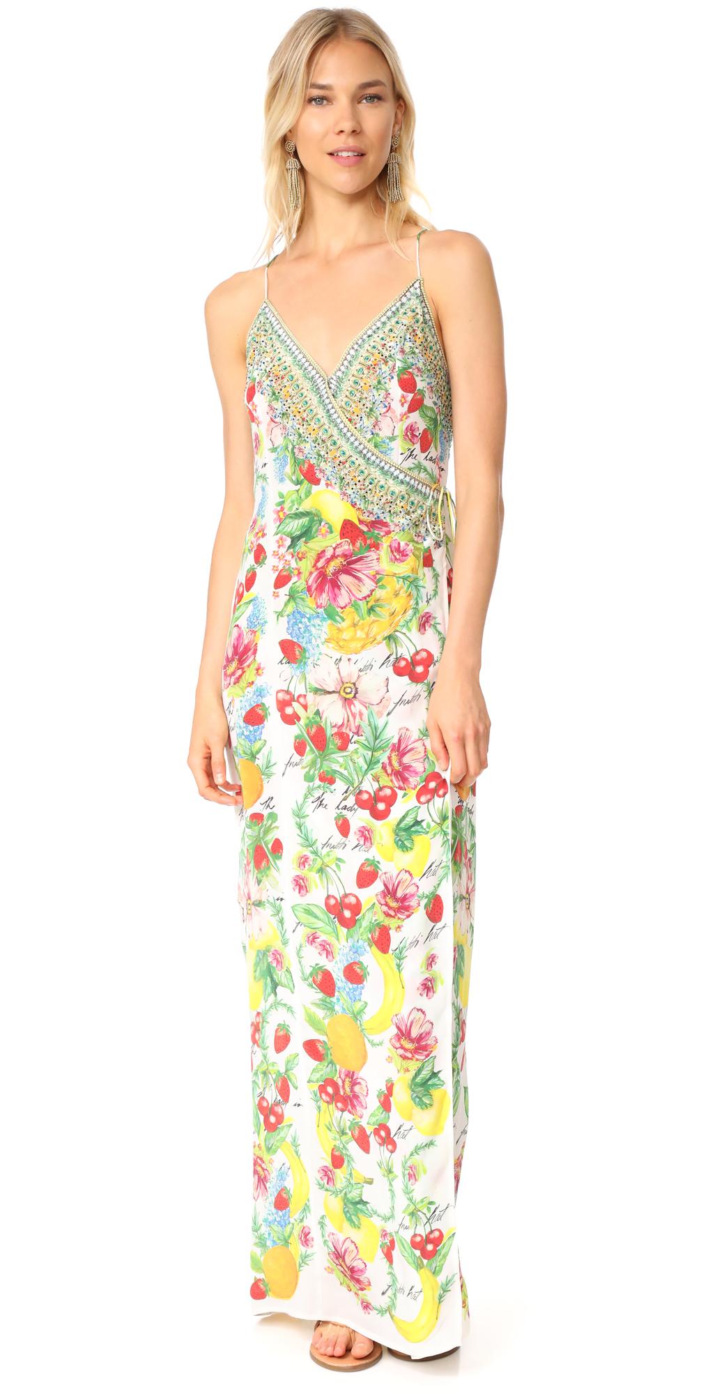There's No Place Like Rio Wrap Dress Camilla