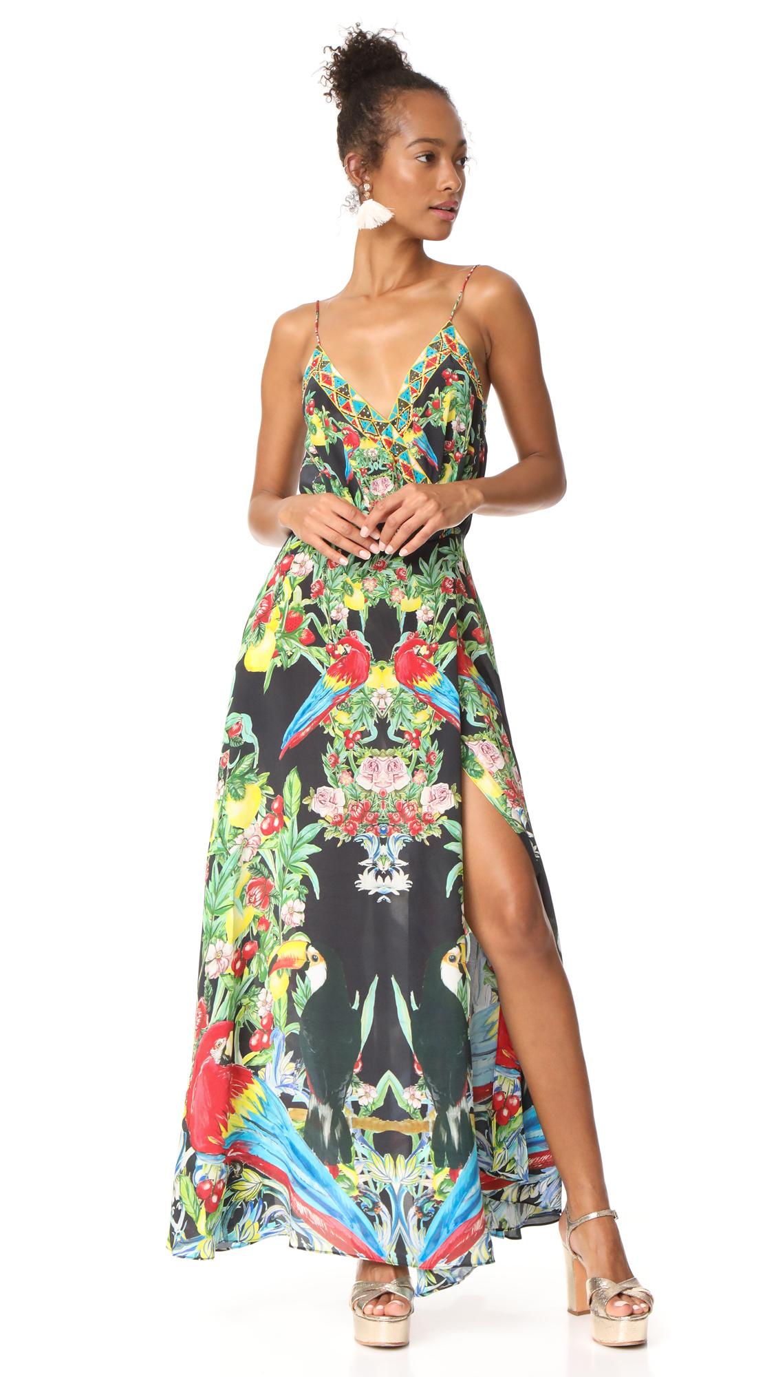Camilla Toucan Play Wrap Dress - Toucan Play