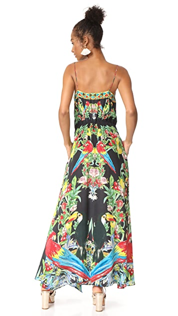 Camilla Toucan Play Wrap Dress