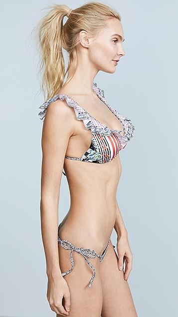 Camilla Frill Strap Bikini Set
