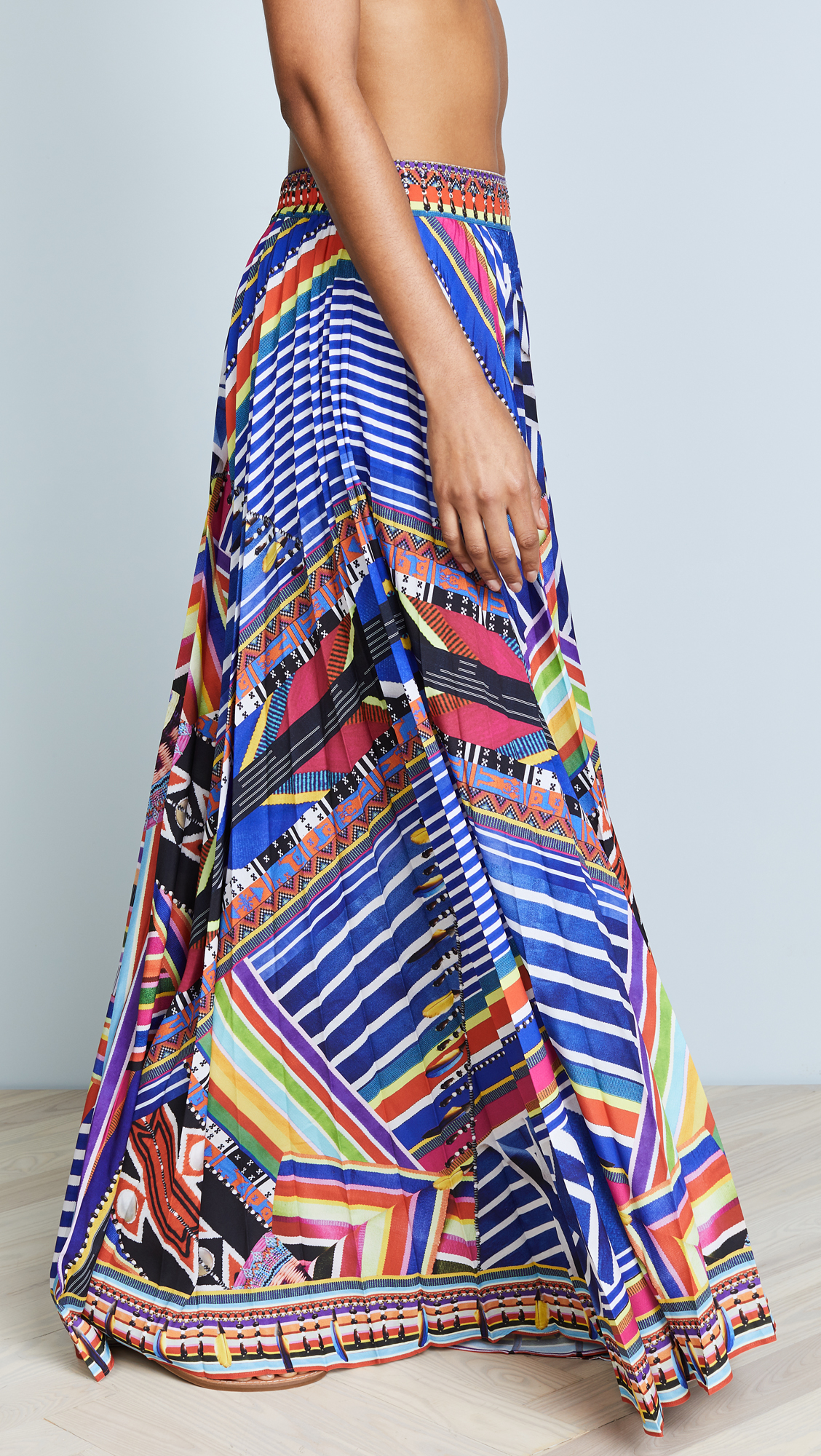8595df100 Camilla Tsachila Blessing Pleated Skirt | SHOPBOP