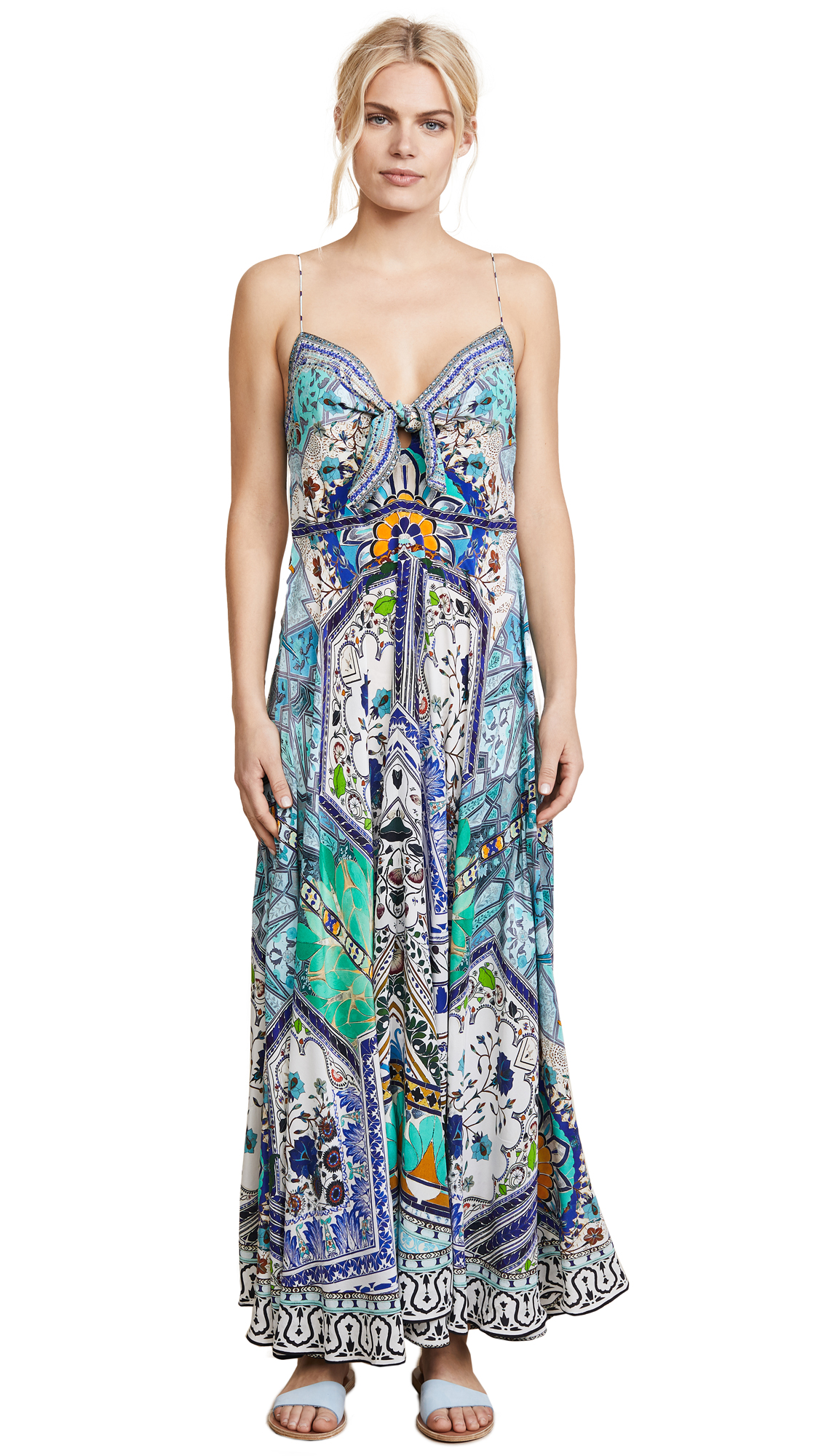 Camilla Everlasting Udaipur Tie Front Dress