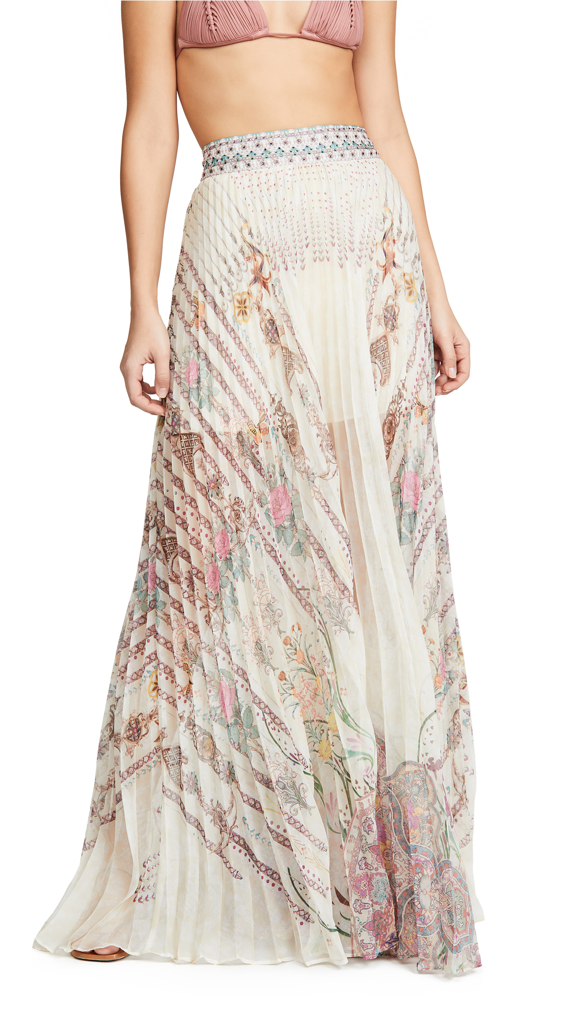 Buy Camilla online - photo of Camilla Pleated Hem Skirt