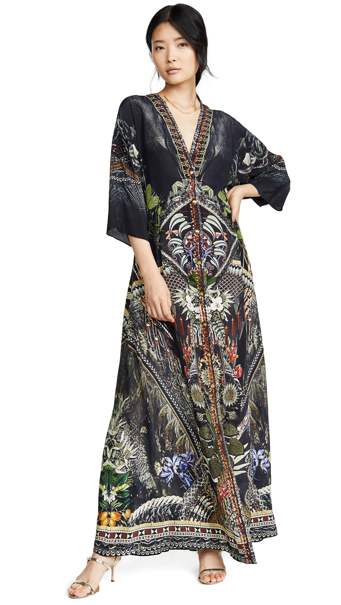 Buy Camilla online - photo of Camilla Button Dress with Square Sleeve