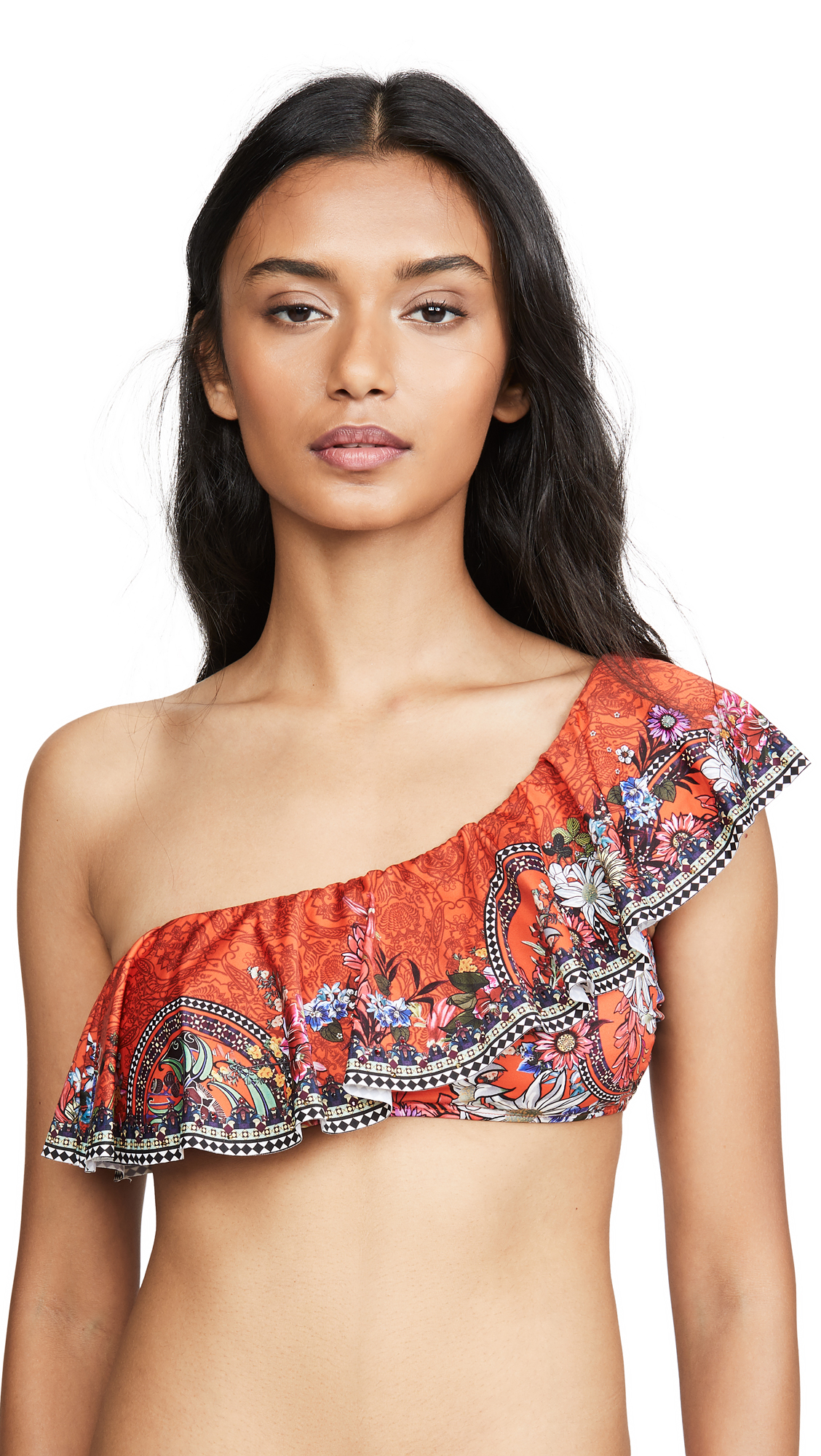 Buy Camilla online - photo of Camilla One Shoulder Frill Bikini Top