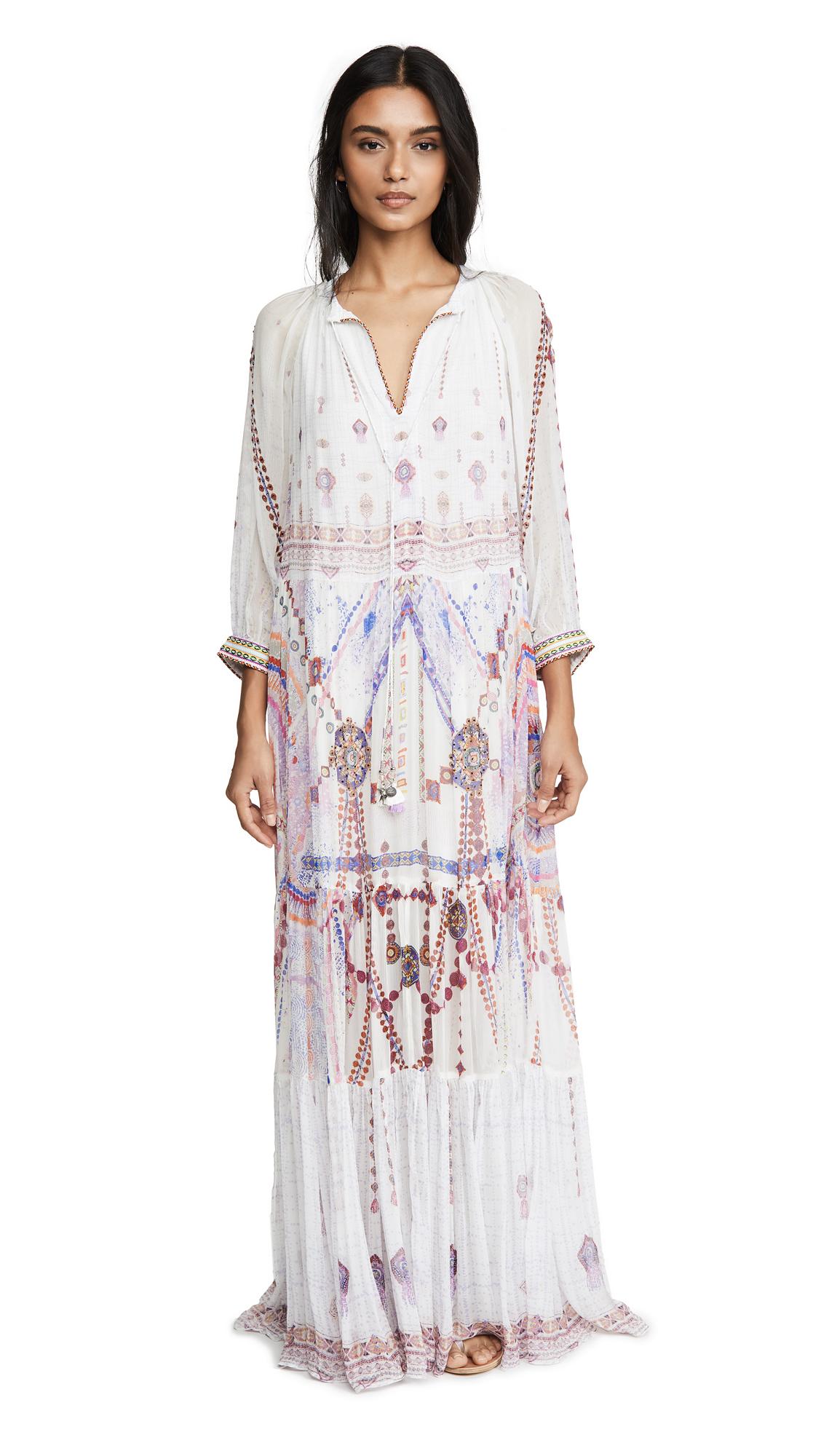 Buy Camilla online - photo of Camilla Long Gathered Panel Dress