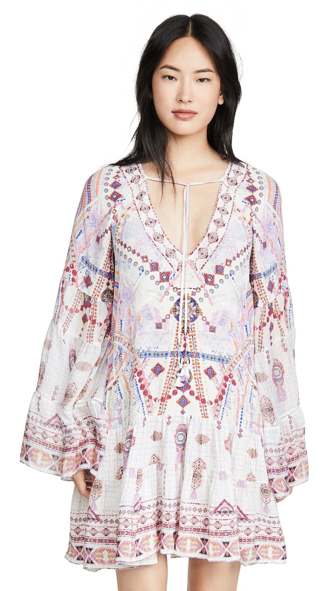 Buy Camilla online - photo of Camilla A-Line Gathered Panel Dress
