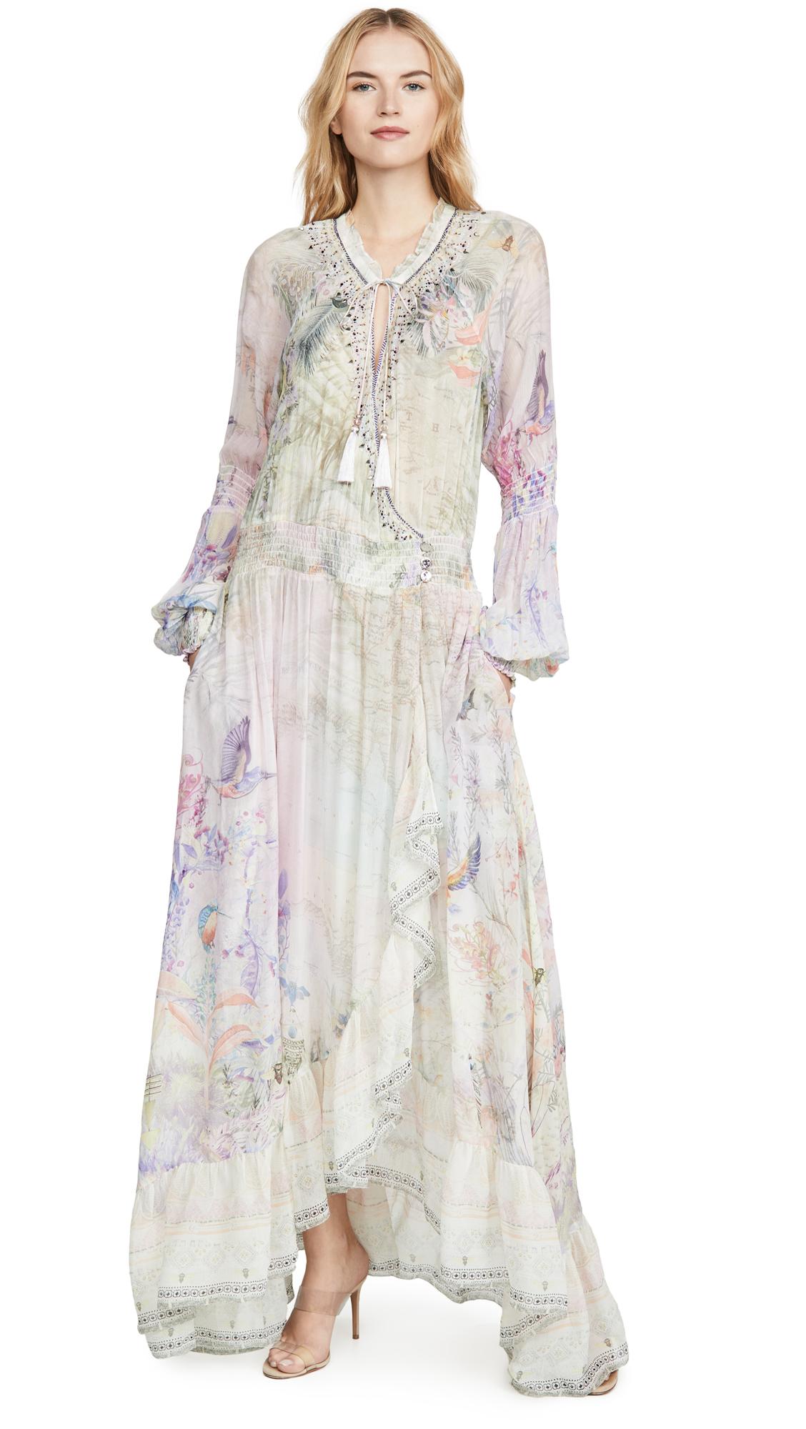 Buy Camilla online - photo of Camilla Blouson Sleeve Wrap Dress