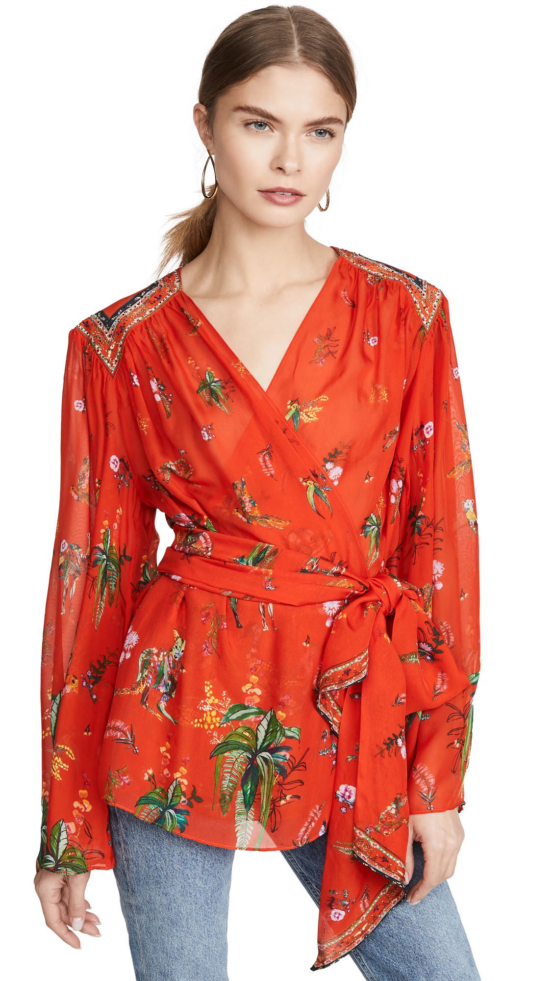 Buy Camilla online - photo of Camilla Wrap Blouse