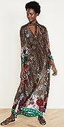 Camilla 领口绑带裹身连衣裙